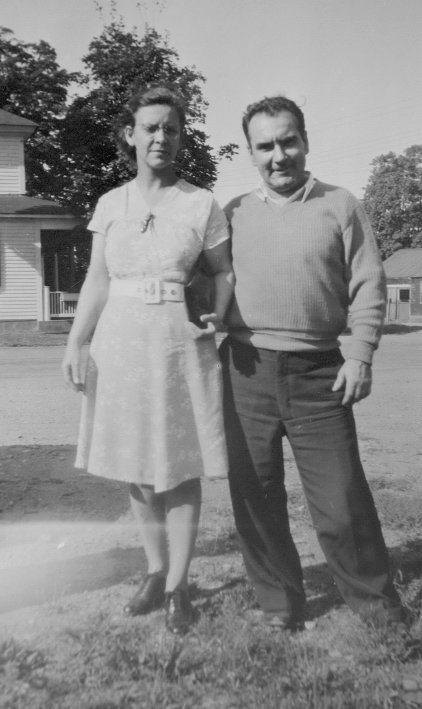 Mable Broga Rousseau and Louis Rousseau (Mable's husband)